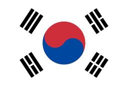 South Korea flag Mannwest