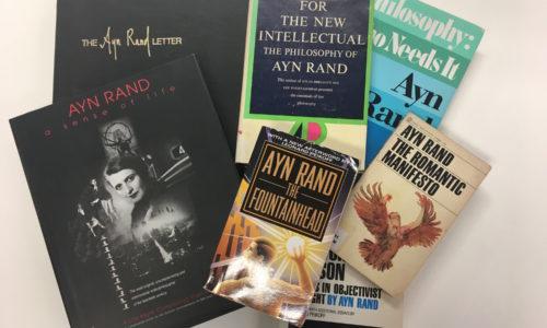Ayn Rand books Mannwest
