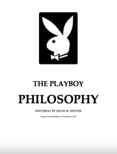Playboy Philosophy Mannwest